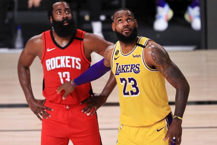 «Лос-Анджелес Лейкерс» обыграл «Хьюстон Рокетс» в плей-офф НБА, установив рекорд