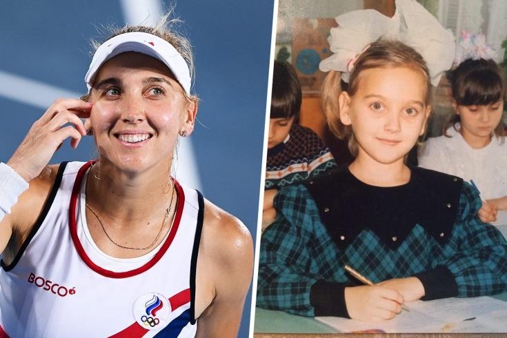 Олимпийская чемпионка Елена Веснина – об отношении к учёбе и учителям, а также о том, как ей помогли полученные знания