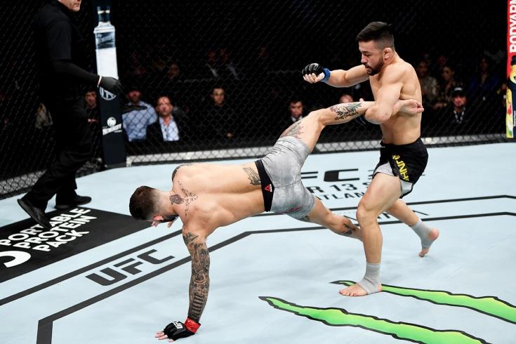 UFC: Педро Муньос нокаутировал Коди Гарбрандта, видео