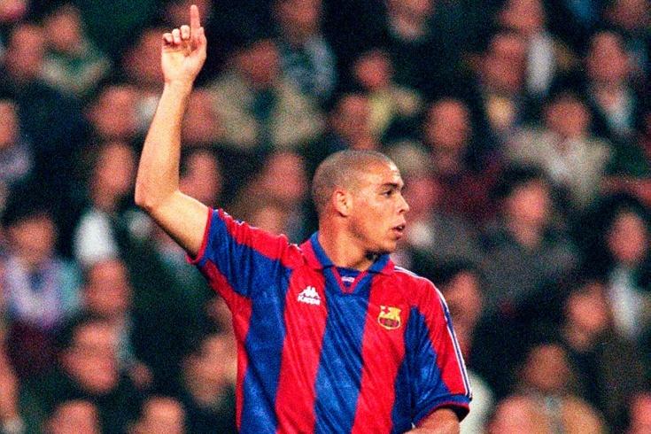 Гол Роналдо за «Барселону» «Компостеле», видео, Примера-1996/1997