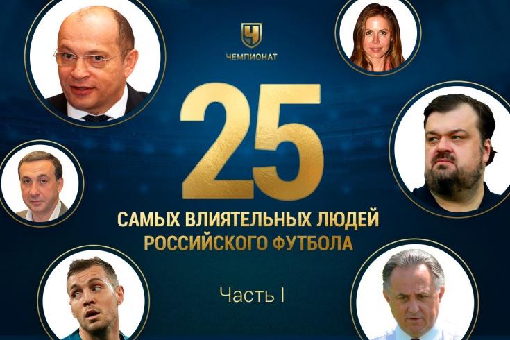 Рейтинг самых влиятельных людей российского футбол