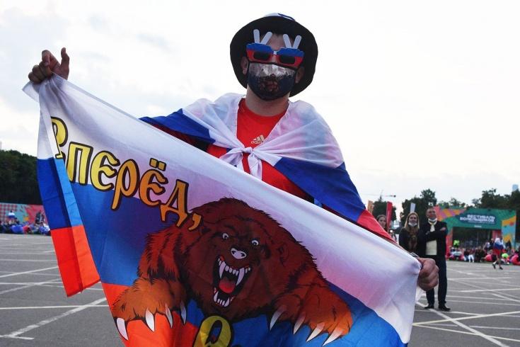 Грустный репортаж о разгроме сборной России