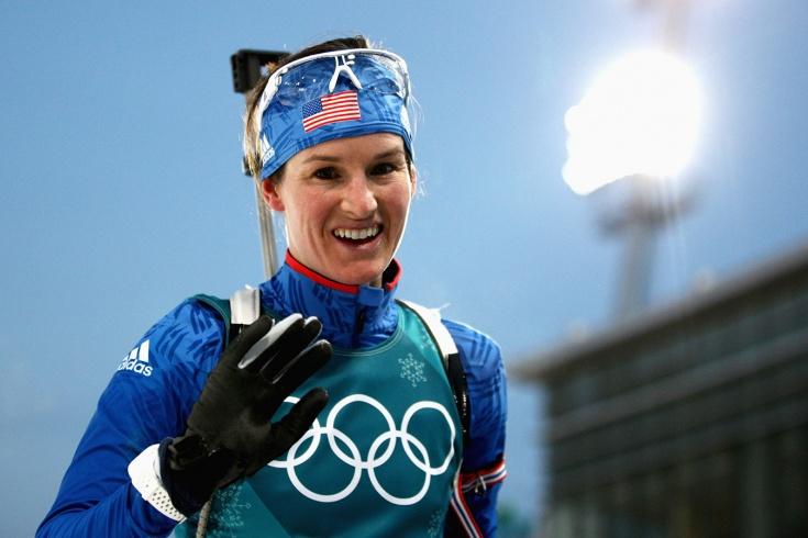 Игэн поздравила российских легкоатлетов