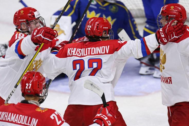 Состав юниорской сборной России по хоккею