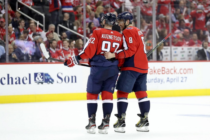 С кем будут играть наши, когда начнётся плей-офф. Тройки россиян в НХЛ