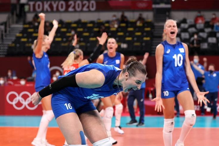 Россия обыграла Китай в волейболе
