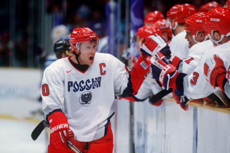 Как Павел Буре забил 5 голов в полуфинале ОИ-1998