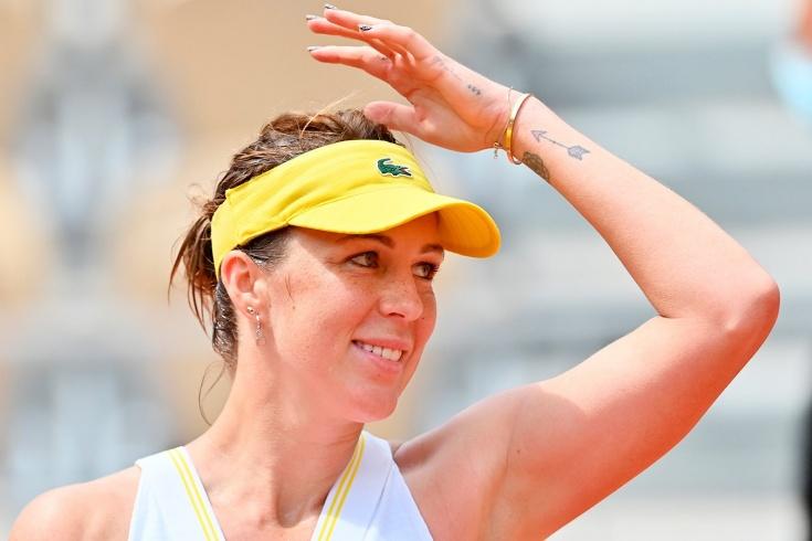 «Ролан Гаррос» — 2021: Анастасия Павлюченкова обыграла Елену Рыбакину и впервые — в 1/2 финала турнира «Большого шлема»