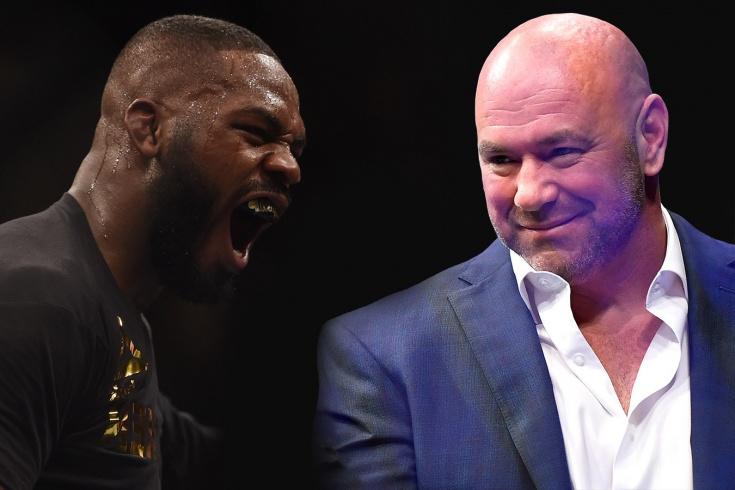 Джон Джонс объявил ультиматум президенту UFC Дэне Уайту, большая ошибка