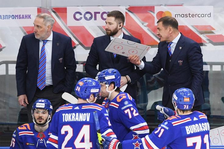 ЦСКА — СКА — 4-2, плей-офф КХЛ сезона-2020/2021, что говорили в СКА после вылета из Кубка Гагарина