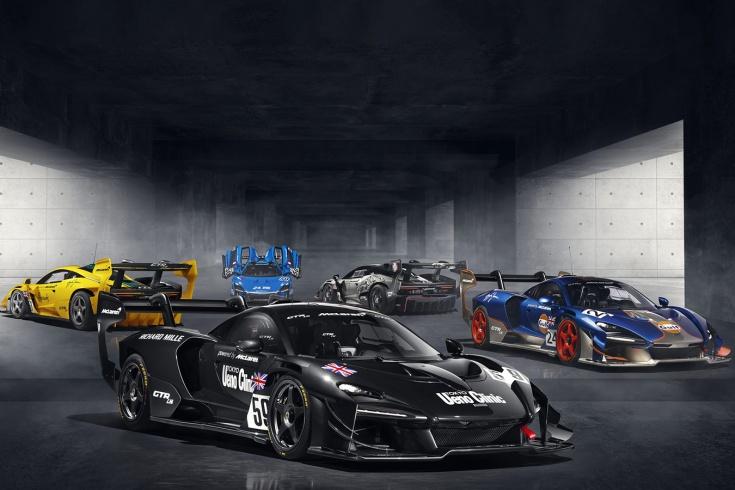 Легендарные победы «Форда» и «Макларена» вдохновили на создание спецверсий авто. Фото