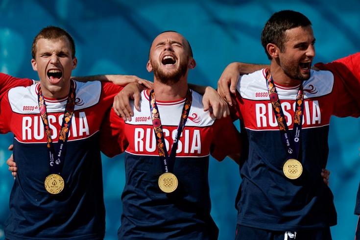 Главные победы России на Европейских играх в Баку