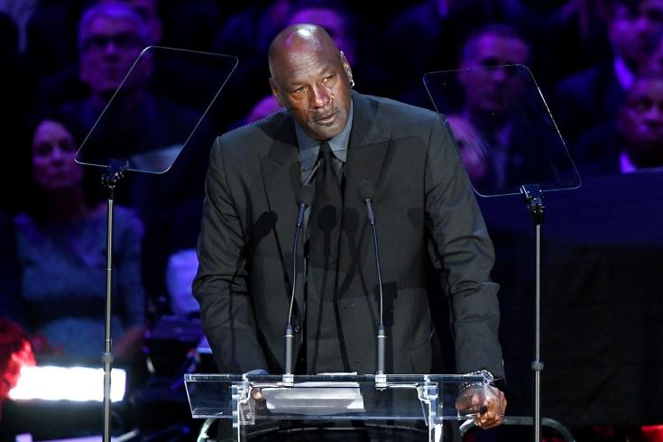 Пронзительная речь Майкла Джордана на церемонии прощания с Коби Брайантом, видео