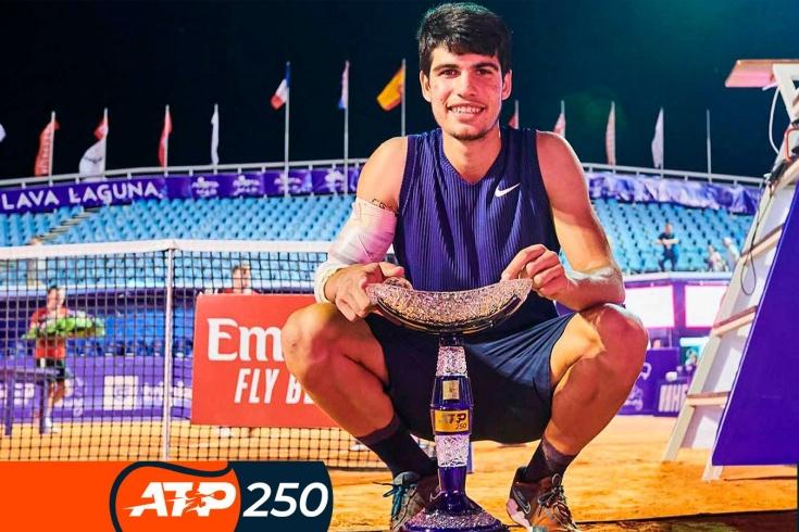 Турнир ATP-250 в Умаге: Карлос Алкарас — чемпион, самые красивые розыгрыши турнира, самые забавные моменты, видео
