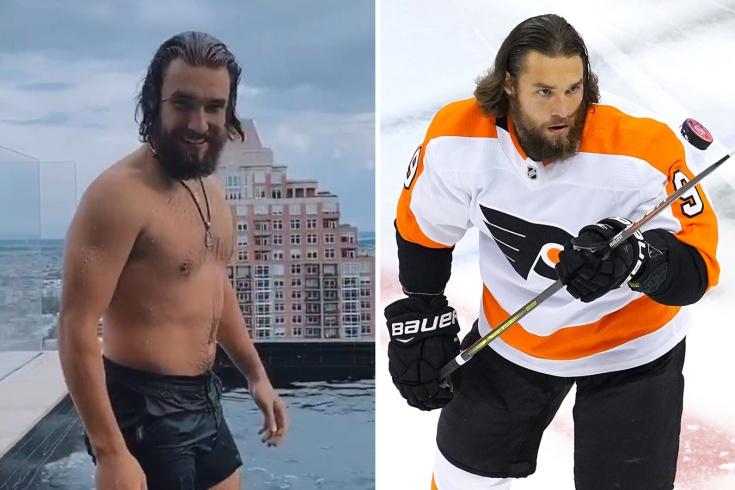 С новой причёской Проворов похож на голливудского актёра. Подруга называет его Акваменом