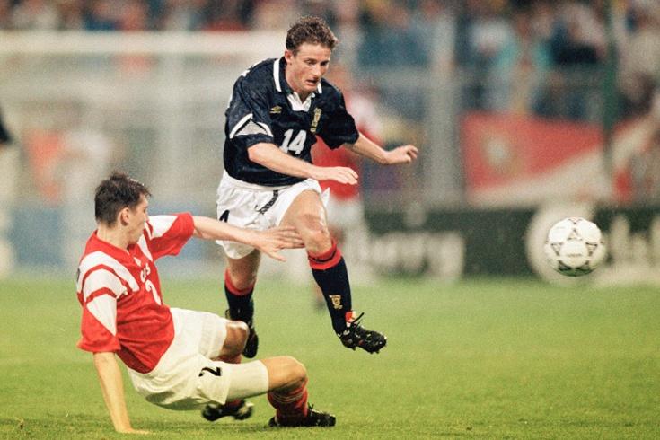 На ЧЕ-1992 сборная СНГ проиграла пьяным шотландцам