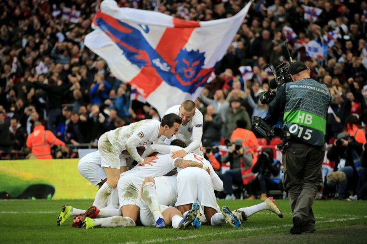 Англия – Хорватия – 2:1