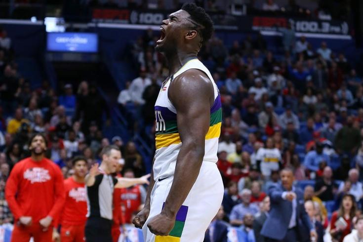 Зайон Уильямсон набрал 31 очко в матче НБА