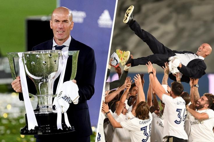 Церемонии награждения мадридского «Реала»