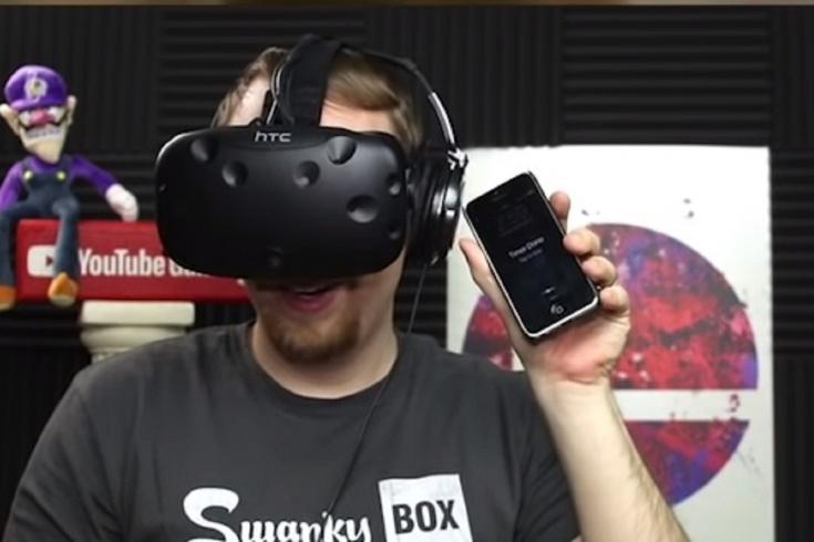 Геймер играл 24 часа подряд в VR-шлеме