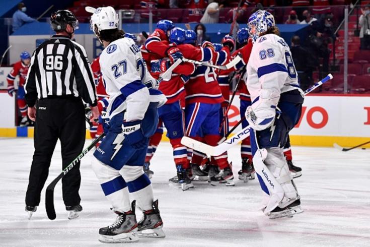 «Монреаль» — «Тампа» — 3:2 ОТ, видео, голы, обзор матча финала плей-офф НХЛ