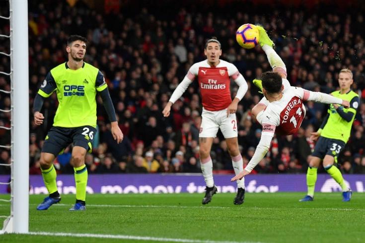 «Арсенал» — «Хаддерсфилд Таун» — 1:0