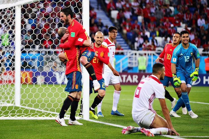 Испания – Марокко. 25 июня. Чемпионат мира-2018