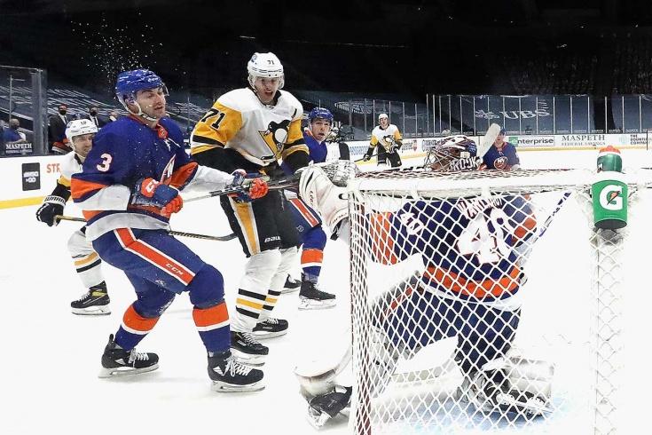 «Айлендерс» — «Питтсбург» — 3:4 Б – видео, голы, обзор матча регулярного чемпионата НХЛ 2021