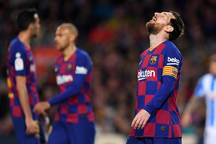 Месси и «Барселона» в сезоне-2020/2021