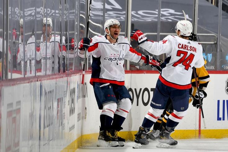 «Питтсбург» — «Вашингтон» — 4:3 Б, обзор матча НХЛ, первый гол Овечкина в сезоне, видео