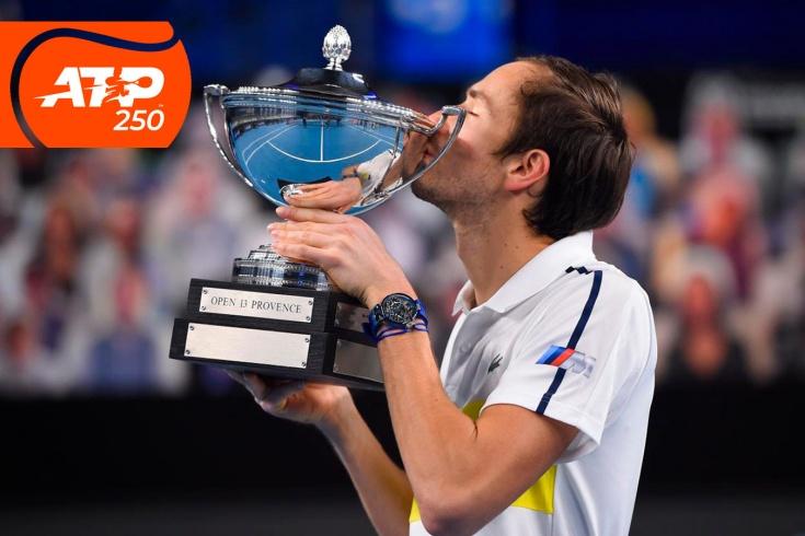 Турнир ATP-250 в Марселе: юбилейный 10-й титул Даниила Медведева и новая серия победных матчей, видео