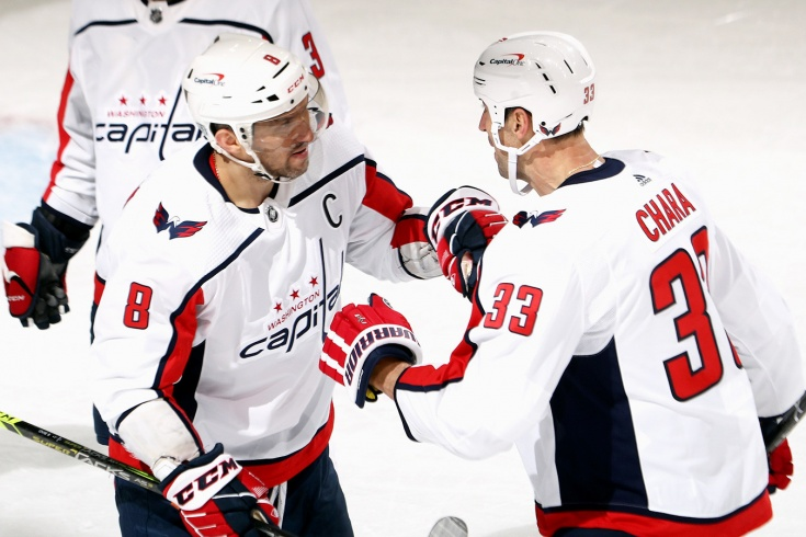 «Нью-Джерси» — «Вашингтон», регулярный чемпионат НХЛ, Овечкин забил крутой гол, видео