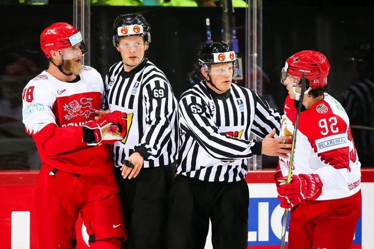 Дания — Беларусь — 5:2 — видео, голы, обзор матча чемпионата мира по хоккею — 2021
