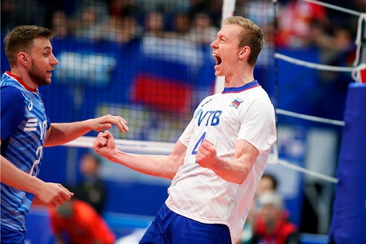 Россия победила Польшу со счётом 3:1