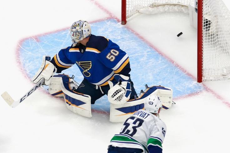 «Сент-Луис» — «Ванкувер» — 2:5 — обзор матчей НХЛ, видео лучших моментов, 13 августа 2020