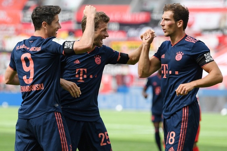 «Байер» — «Бавария» — 2:4, 6 июня, Бундеслига – голы, обзор матча, игра Леона Горецки
