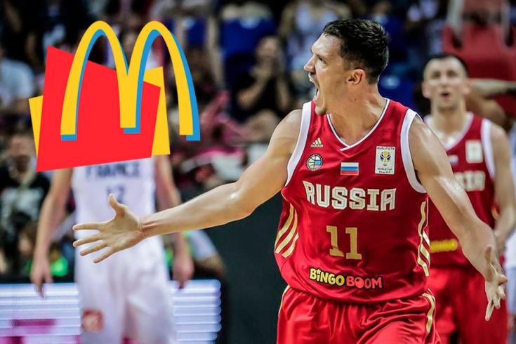 Сборная России ест в «Макдоналдсе». Боимся допинга
