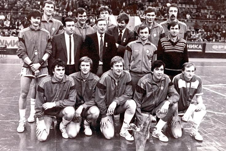 Чемпионская команда ЦСКА-1988