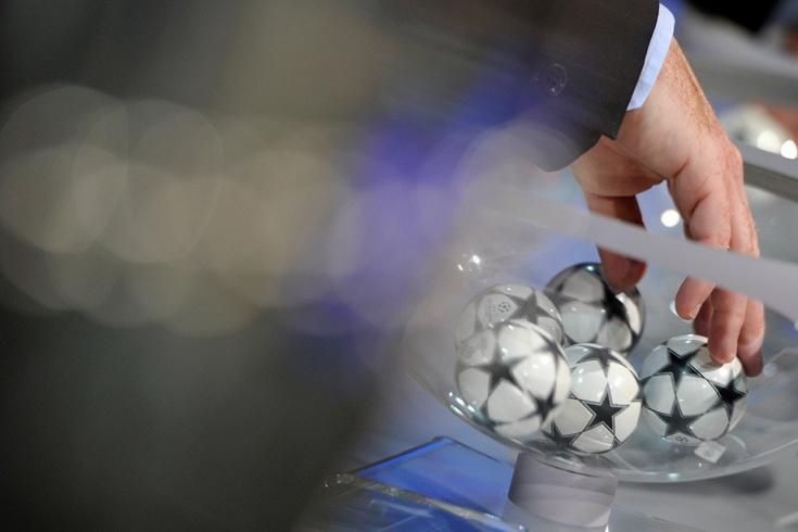 Жеребьёвка Лиги чемпионов 2019-2020