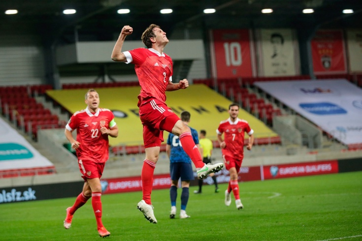 Словакия – Россия – 2:1