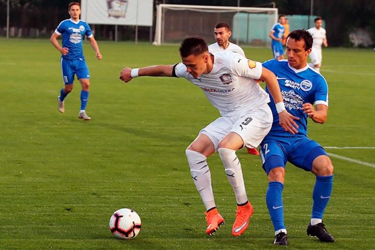 Странный матч «Чайка» — «Черноморец»