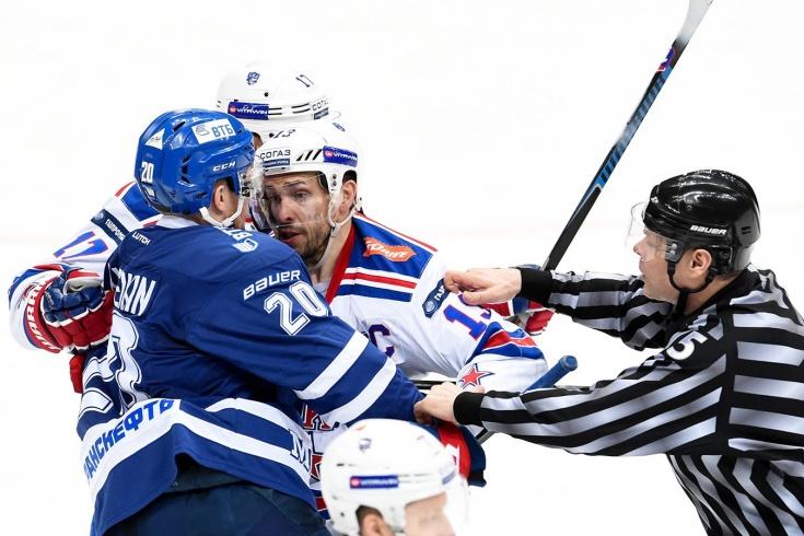 «Почему он в НХЛ так никого не убивал?» За что Дацюка однажды удалили до конца матча
