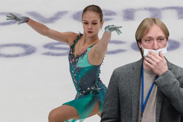 Этап Гран-при по фигурному катанию в Москве: Трусовой стоит отказаться от тройного акселя — почему