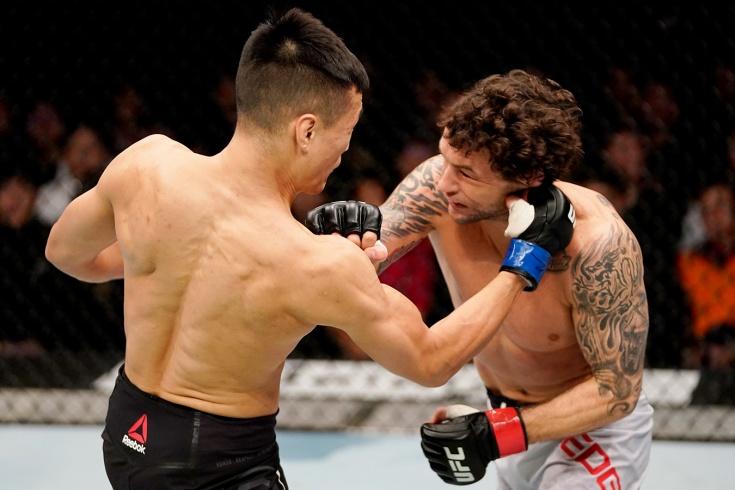 Бой Брайан Ортега – Корейский Зомби на UFC Fight Night 180, где смотреть