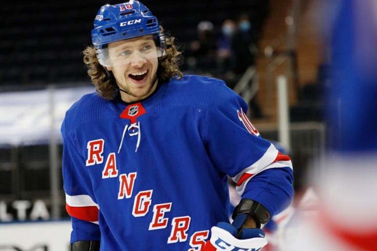 «Рейнджерс» — «Питтсбург» — 8:4, видео, голы, обзор матча регулярного чемпионата НХЛ — 2021