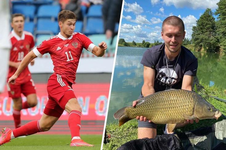 «Тусе предпочту рыбалку». Зачем игрок сборной России смазывает рыб зелёнкой