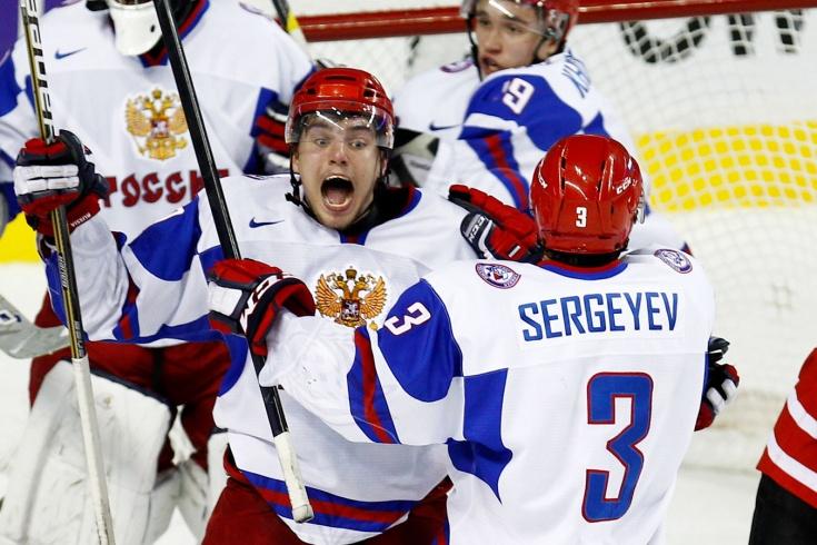 Как Россия и Канада играли в полуфиналах МЧМ по хоккею