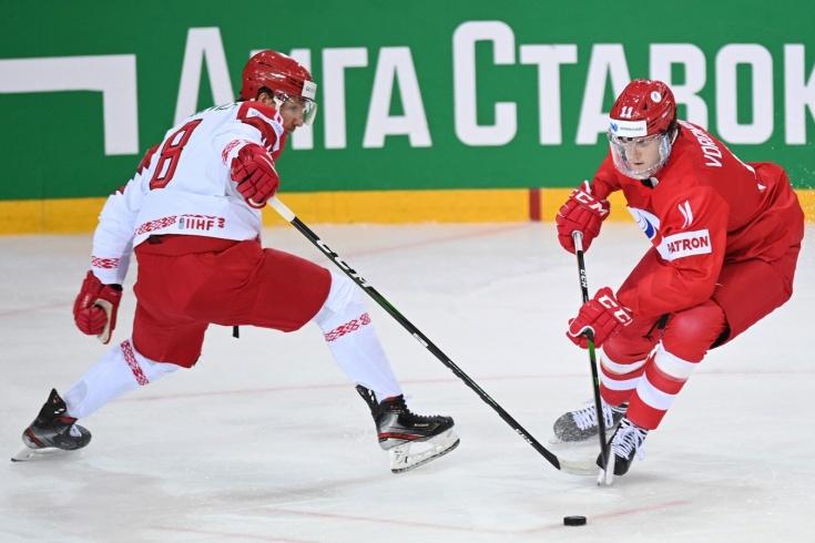 Россия не пощадила! Беларусь хотела хлопнуть дверью на ЧМ, а получила 0:5 за период