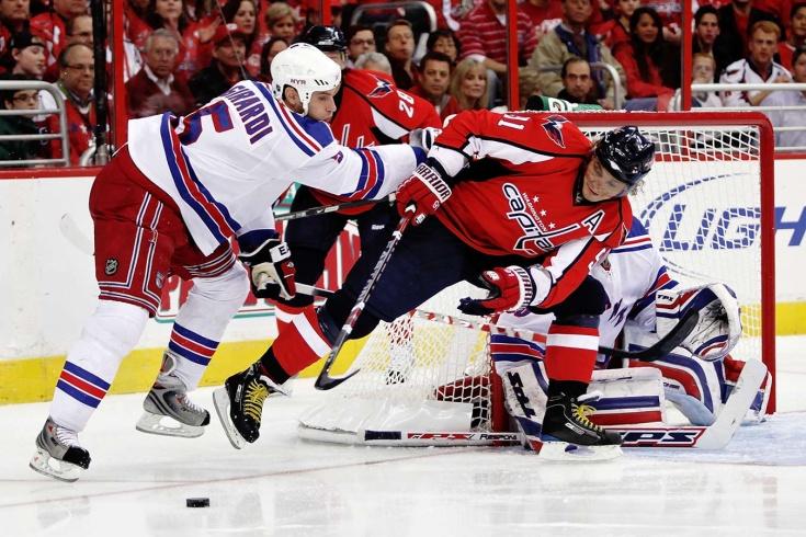Последний гол Фёдорова в НХЛ.