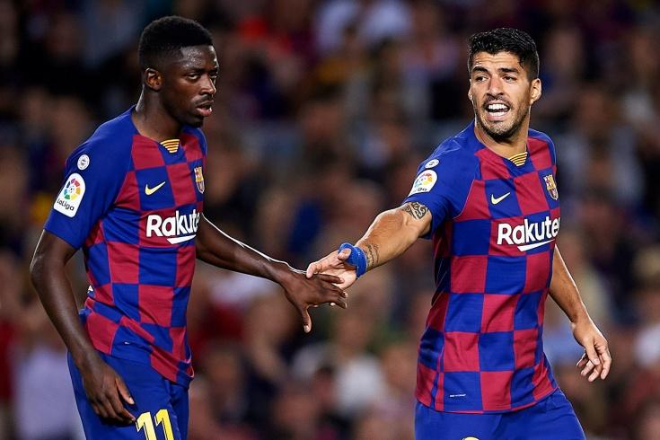«Барселона» потеряла Суареса и Дембеле до мая